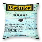 Woodstock Side 4 Throw Pillow