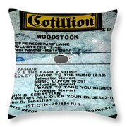 Woodstock Side 5 Throw Pillow