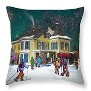 Woodstock Sports Throw Pillow