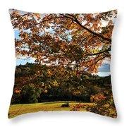 Woodstock Vermont Throw Pillow