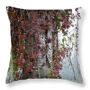 Woodvine Throw Pillow
