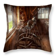 Woodworker - The Art Of Lathing Throw Pillow