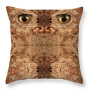 Woody 50 Throw Pillow