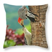 Woody Mama And Baby Throw Pillow