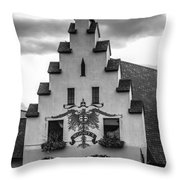 Woody's Of Frankenmuth Throw Pillow
