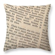 Words Of The Bible Throw Pillow