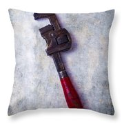 Work Wrench Throw Pillow
