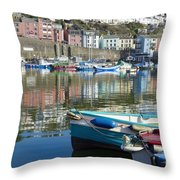 Workers Rest Throw Pillow