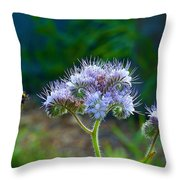 Working For A Living Throw Pillow