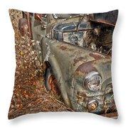Working Truck  Throw Pillow