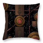 Workings Of The Universe Throw Pillow