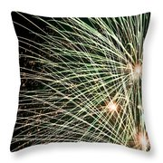 Works Of Fire IIi Throw Pillow