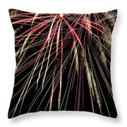 Works Of Fire V Throw Pillow
