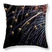 Works Of Fire Vi Throw Pillow