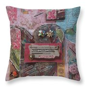 Works Of Heart Matrimony Throw Pillow