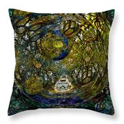World In Crisis Calls For Peace Throw Pillow
