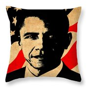 World Leaders 1 Throw Pillow