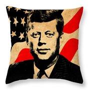 World Leaders 2 Throw Pillow