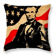 World Leaders 4 Throw Pillow
