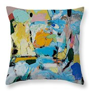 World Of Action Throw Pillow