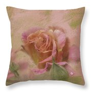World Peace Roses With Texture Throw Pillow