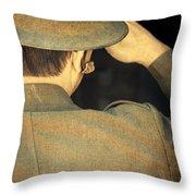 World War 1 Soldier Throw Pillow