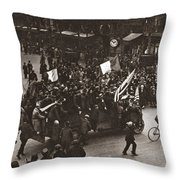 World War I Celebration Throw Pillow