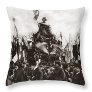 World War I Monument Throw Pillow