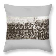 World War I Paris, C1917 Throw Pillow