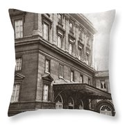 World War I Quai D'orsay Throw Pillow
