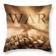 World War  Throw Pillow