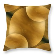 Worlds Collide 10 Throw Pillow by Mike McGlothlen