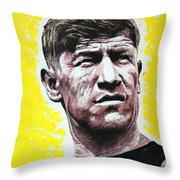 Worlds Greatest Athlete Throw Pillow by Chris Mackie