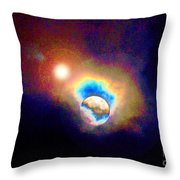 Worlds In Transition Throw Pillow