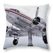 World's Largest Weather Vane Throw Pillow