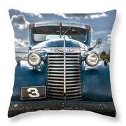 Worm Truck Throw Pillow