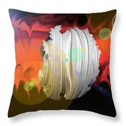 Wormhole Predator Throw Pillow