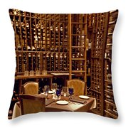 Would You Join Me For A Glass My Dear Throw Pillow