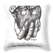 Would You Like An Apple? Throw Pillow