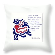 Wounded Heart Throw Pillow