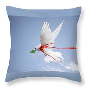 Wounded Peace 2 Throw Pillow