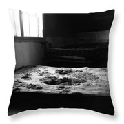 Wounded Sleeps  Throw Pillow