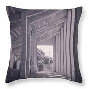 Wpa Project Farrington Field Throw Pillow