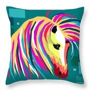 Wpap Horse Throw Pillow