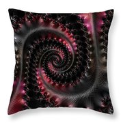 Wrapped Tails Throw Pillow