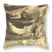 Wreakedd Throw Pillow