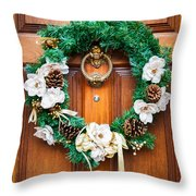Wreath 27 Throw Pillow