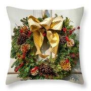 Wreath 32 Throw Pillow