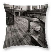 Wren Building Classroom Throw Pillow