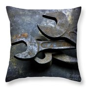 Wrenchs Throw Pillow